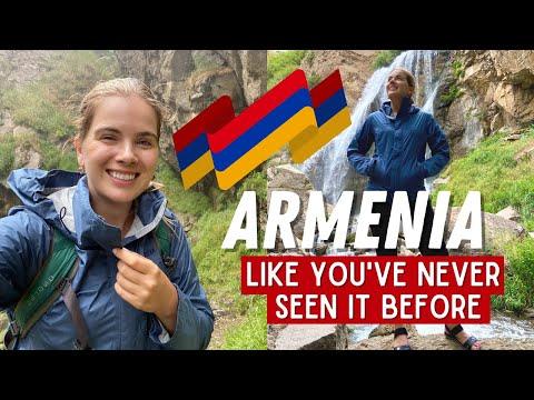 AMAZING ARMENIA   Off-Roading + Hiking To Trchkan Waterfall