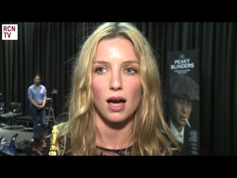 Annabelle Wallis Interview Peaky Blinders