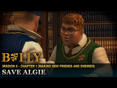 Save Algie - Mission #6 - Bully: Scholarship Edition