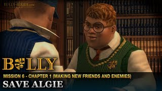 Save Algie - Mission #6 - Bully: Scholarship Edition