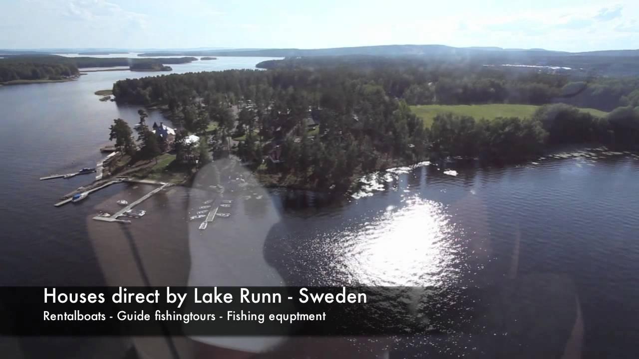 runn_Fly Helicopter over Lake Runn Fishing Resort- Sweden.mov - YouTube