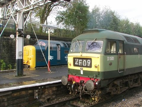 East Lancashire Railway 8.11.2014 - Eastern Region Day - Class 31 37 40 47 55 122