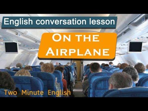 Tiếng Anh trên máy bay