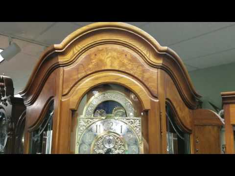 HOWARD MILLER MAJESTIC GRANDFATHER CLOCK 610-940