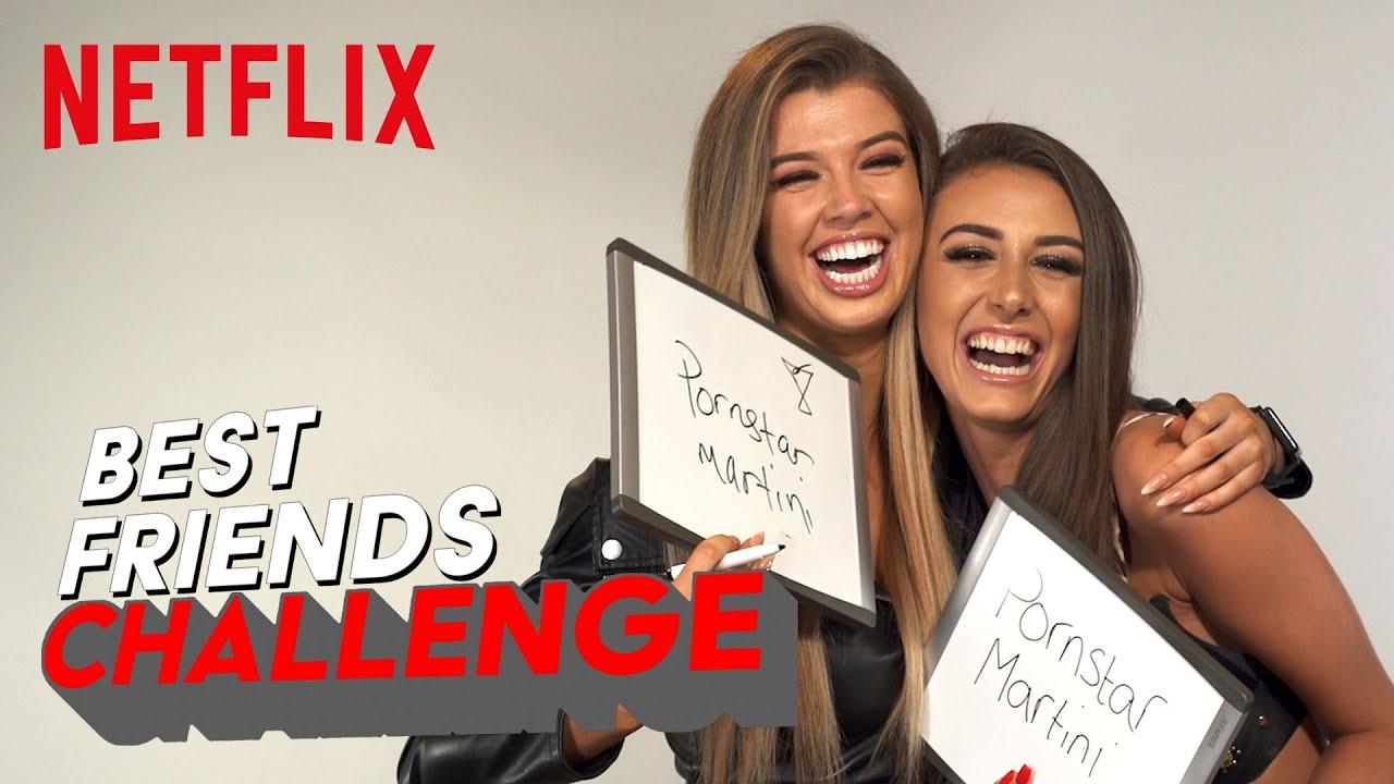 Too Hot To Handle BFF Challenge | Chloe and Nicole | Netflix