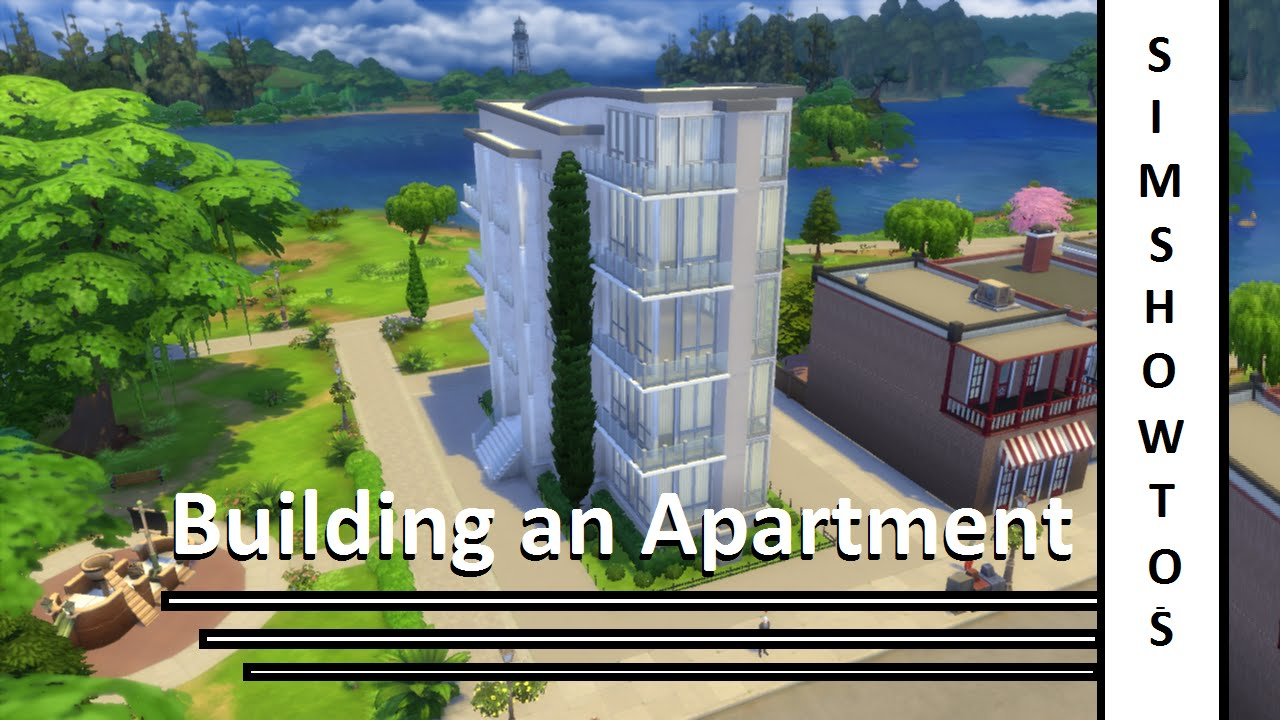 The Sims 4 Apartment Building