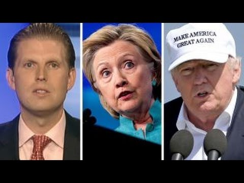 Eric Trump on the 'Brexit' effect on Trump vs. Clinton