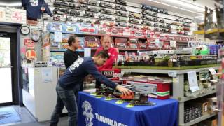 LGB Trains visits TrainLand to talk about G-Scale Trians