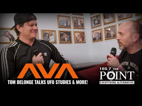 Tom DeLonge of ANGELS AND AIRWAVES says the world needs to come together on UFO studies