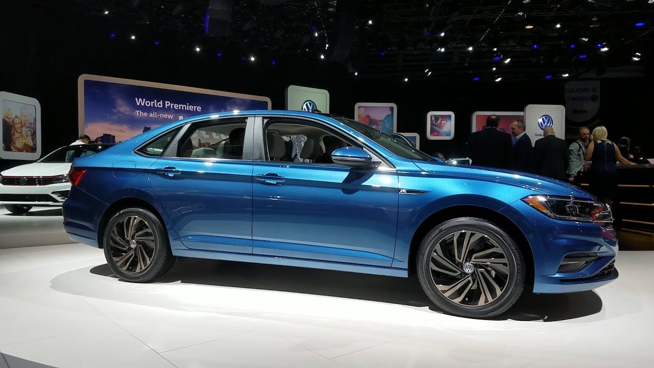 2019 volkswagen jetta 2018 detroit auto show. Black Bedroom Furniture Sets. Home Design Ideas