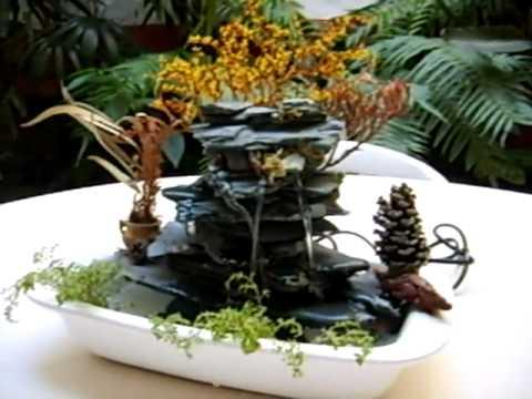 Fuentes de agua cascadas feng youtube for Fuente agua feng shui
