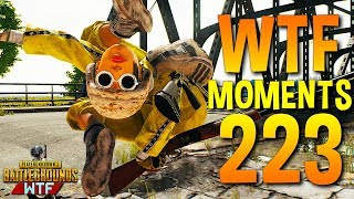 PUBG Daily Funny WTF Moments Highlights Ep 223 (playerunknown's battlegrounds Plays)