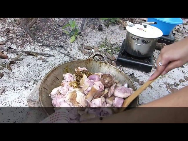 she had some  cooking skills.suriname style.
