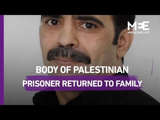 Funeral held for Palestinian man six months after he suffered a heart attack in an Israeli prison