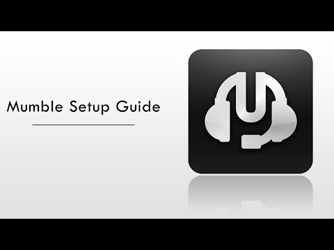 Mumble | Setup guide to run your own server