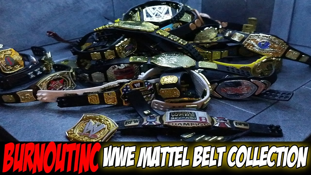 Download BurnoutInc's WWE Mattel Belt Collection