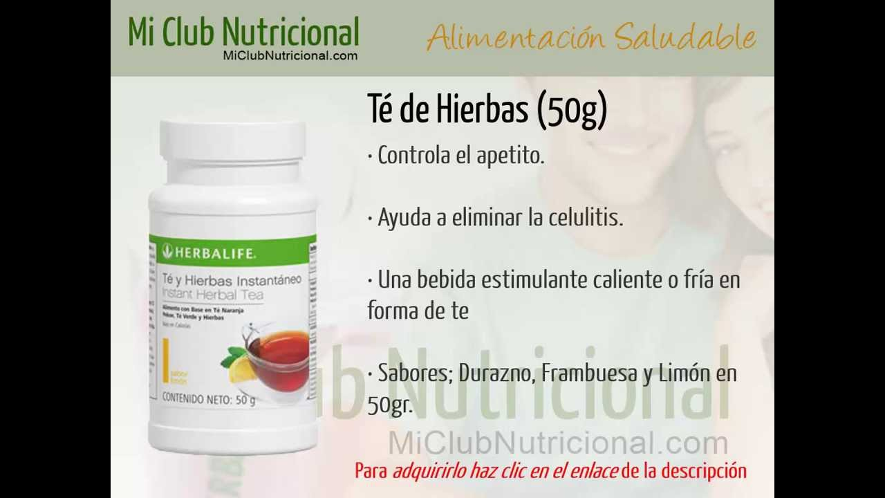 Productos Herbalife - Te de Hierbas 50g - YouTube