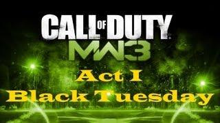 """Call of Duty 8: Modern Warfare 3"", HD walkthrough (Veteran), Act I: Mission 1 - Black Tuesday"