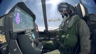 RNoF F-35 Intercepts BBC Tu-160