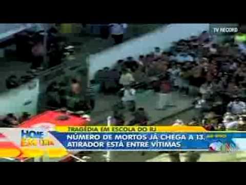 Gunman kills 13 kids in Brazil School Shooting rampage