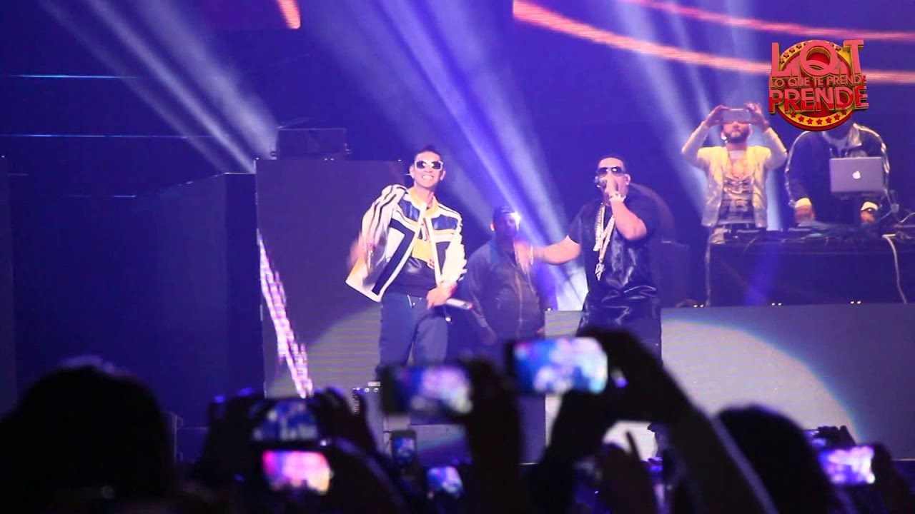 Plan B Ft. Daddy Yankee Live at Madison Square Garden - YouTube