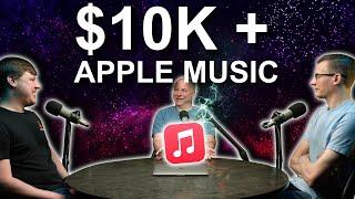 Engineers try Apple Music on $10,000 Headphone system!