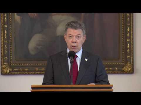 Encuentro del Presidente Juan Manuel Santos y miembros de la Unión Patriótica 15 sept 2016