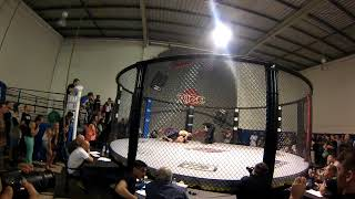 Battle Fields's First MMA Fight At Advance Martial Arts Coorparoo In 2013