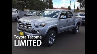 The Tacoma Limited - What makes it unique?