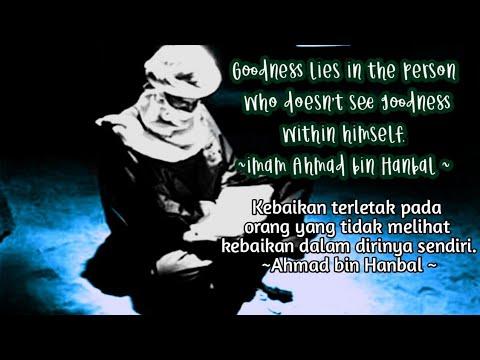 Kata Mutiara Imam Ahmad Bin Hanbal Motivasi Inspiratif Youtube