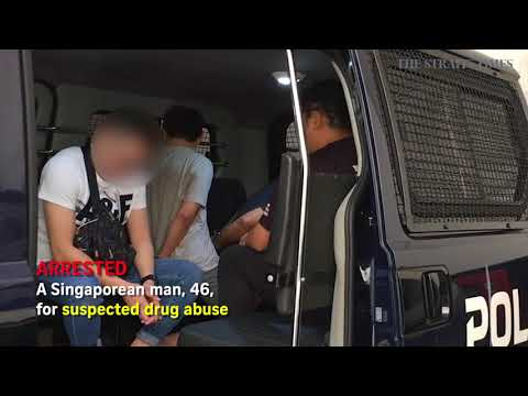 Behind the scenes of a drug raid