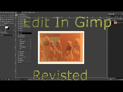 EDIT IN GIMP: Revisited thumbnail