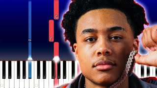 Luh Kel - Wrong (Piano Tutorial)