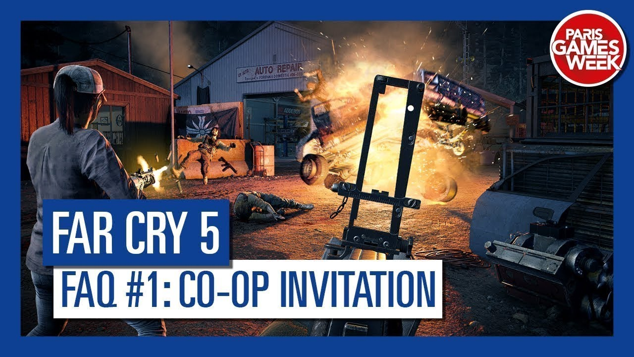 Far Cry 5 - Co-op FAQ #1: How Do I Invite My Friend To Play Co-op?