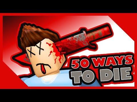 50 WAYS TO DIE IN ROBLOX |