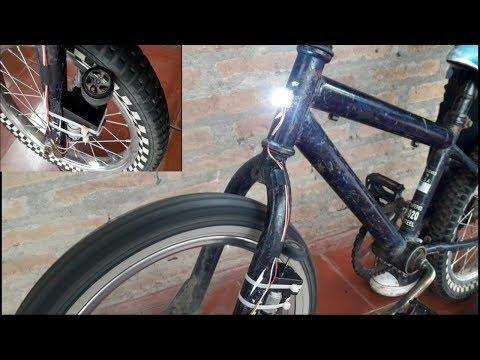 Cómo Generar Electricidad Con Tu Bicicleta - Generador Casero thumbnail
