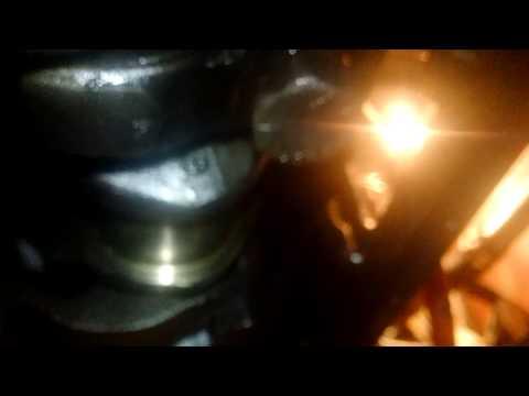 Marine NH250M small cam #7 main bearing work