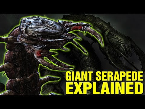 GIANT SERAPEDES EXPLAINED - WHAT ARE SERAPEDES IN GEARS OF WAR? LORE AND HISTORY EXPLORED