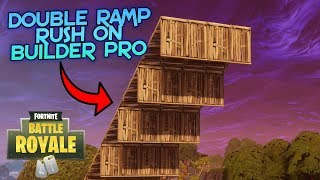 How To Double Ramp Rush With Walls USING BUILDER PRO (Tutorial)
