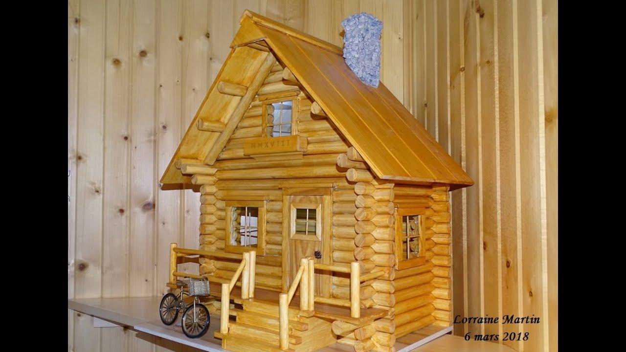 Mini Chalet En Bois maison en bois rond création claude