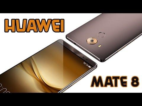 Presentato il nuovo Huawei Mate 8 al CES 2016 (ITA)