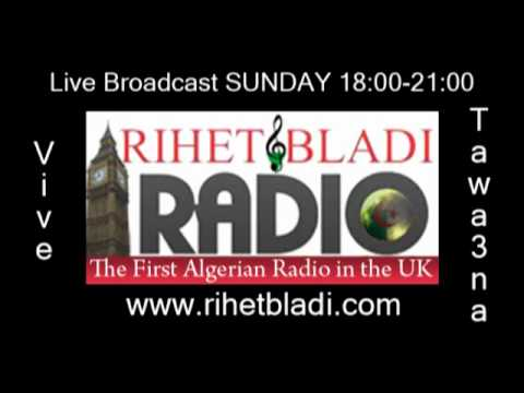 The first Algerian Radio in the UK