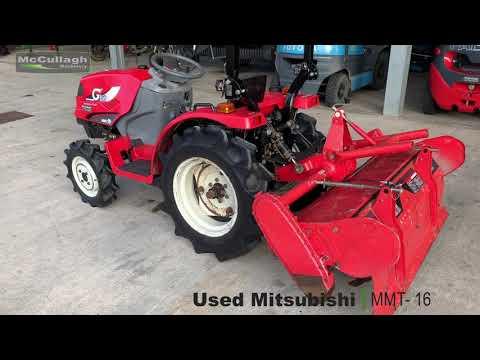 Mitsubishi MMT 16 Compact Tractor