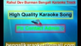 Shono Ei To Somoy Tumi Kache Boso Karaoke Rahul Dev Burman