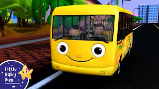 Wheels On The Bus | Part 1 | Nursery Rhymes | from LittleBabyBum! | ABCs and 123s