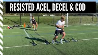 Lacrosse Strength & Performance Training: Resisted Acceleration, Decel and Change of Direction.