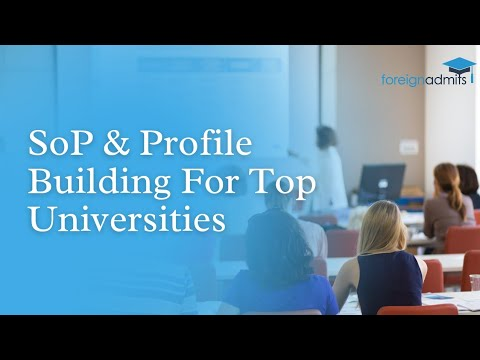 How to build profile for Top Universities [International] by Monash & Queens University Graduates