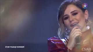 Merve Özbey -Hani Bizim Sevdamız Star Tv Yılbaşı Konseri 2019 31 Aralık 2018 Full