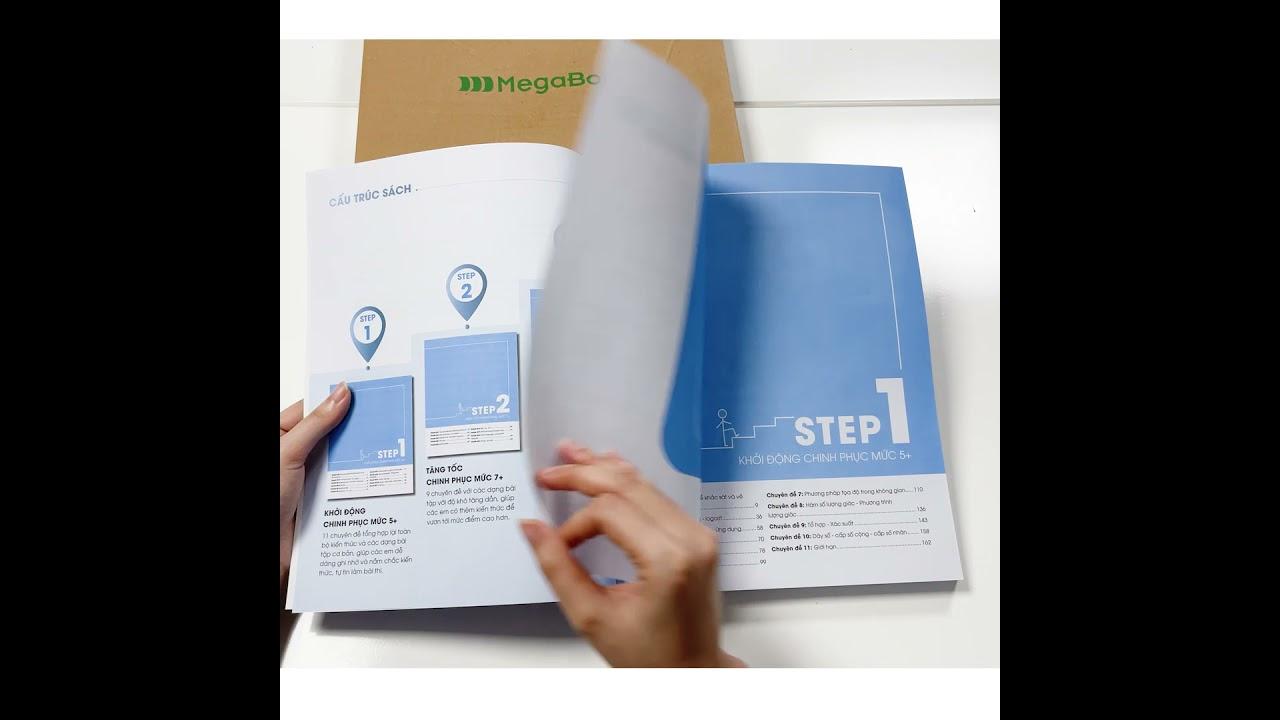 [Review sách] 3 STEP – Tiết lộ bí quyết 3 bước đạt điểm 8+ Toán học