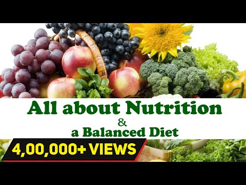 All About NUTRITION | Balanced Diet Chart | Diet plan in Qua